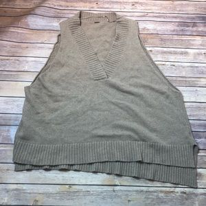 Free People Oversized Swing Sweater Vest